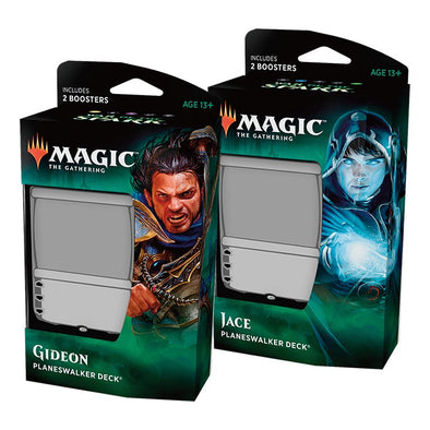 Buy MTG - War of the Spark - Planeswalker Deck - Set of 2 and more Great Magic: The Gathering Products at 401 Games