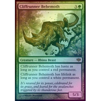 Cliffrunner Behemoth (Foil) (CON) available at 401 Games Canada