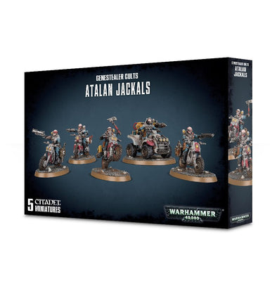Buy Warhammer 40,000 - Genestealer Cults - Atalan Jackals and more Great Games Workshop Products at 401 Games
