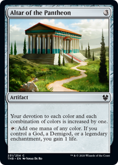 Altar of the Pantheon (THB) (Pre-Order: 2020-01-24)