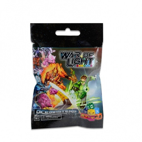 Dice Masters - DC War of Light - Gravity Feed Booster Pack - 401 Games