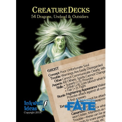 Fate - Creature Deck - Undead & Outsiders - 401 Games
