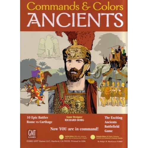 Commands & Colors - Ancients available at 401 Games Canada