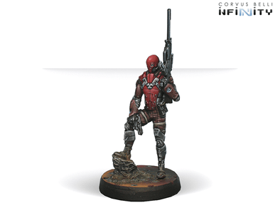 Infinity - Nomads - Intruder, Corregidor Assault Commando (MULTI Sniper) - 401 Games