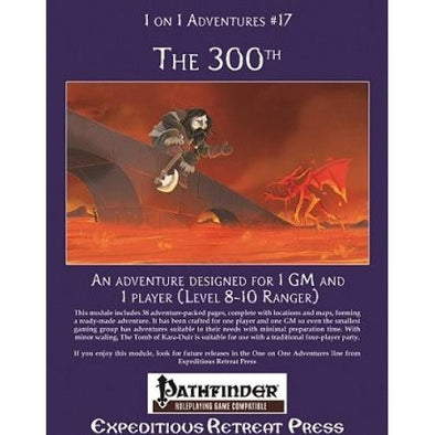 Pathfinder - Module - 1 on 1 Adventures #17: The 300th