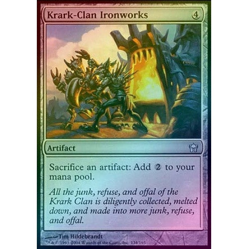 Krark-Clan Ironworks (Foil) (5DN) available at 401 Games Canada