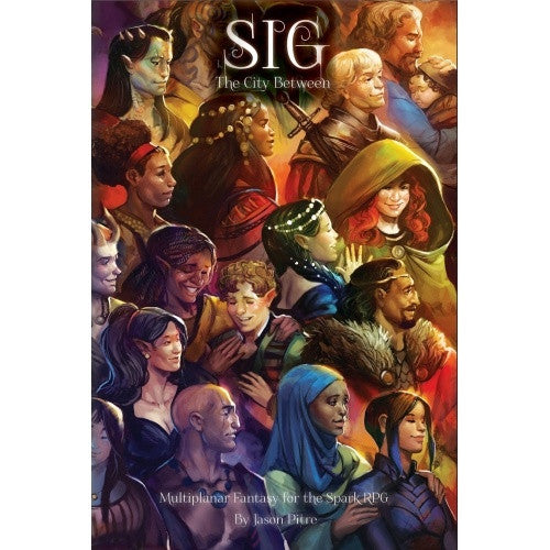 Buy Spark - Sig: The City Between and more Great RPG Products at 401 Games