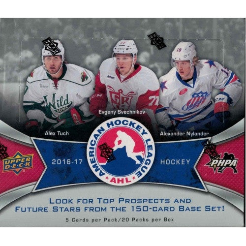 Buy 2016-17 Upper Deck AHL Hockey Hobby Box and more Great Sports Cards Products at 401 Games