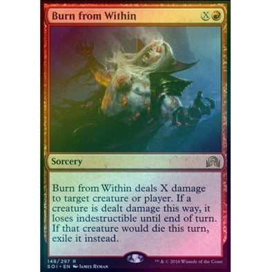 Burn from Within (Foil) - 401 Games