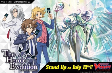 Buy Cardfight Vanguard - V Extra Booster 07: The Heroic Evolution (Pre-Order July 19, 2019) and more Great Cardfight!! Vanguard Products at 401 Games