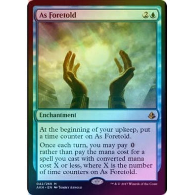 As Foretold (Foil) (AKH) available at 401 Games Canada