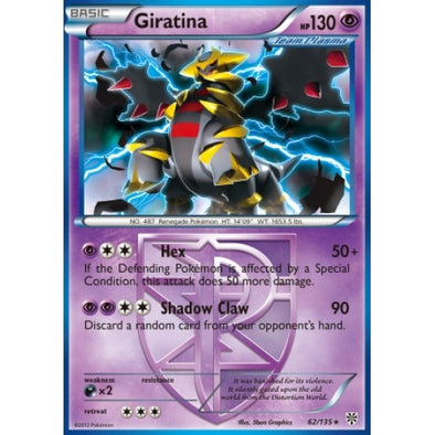 Giratina - 62/135 - Reverse Foil (PLS062R) available at 401 Games Canada