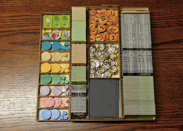 Meeple Realty - Caverna - Box Insert - 401 Games