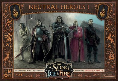 A Song of Ice and Fire - Tabletop Miniatures Game - Neutral Forces - Neutral Heroes 1 - 401 Games