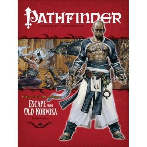 Buy Pathfinder - Adventure Path - #09: Escape from Old Korvosa (Curse of the Crimson Throne 3 of 6) and more Great RPG Products at 401 Games