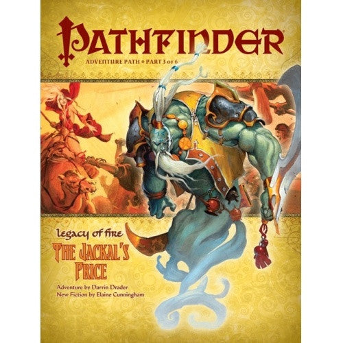 Pathfinder - Adventure Path - #21: The Jackal's Price (Legacy of Fire 3 of 6) available at 401 Games Canada