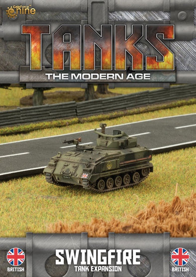 Buy Tanks - Modern Age - British - Swingfire and more Great Tabletop Wargames Products at 401 Games
