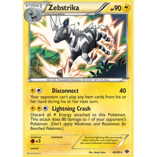 Zebstrika - 48/99 - Reverse Foil (NXD048R) available at 401 Games Canada