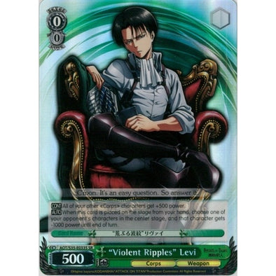 """Violent Ripples"" Levi - Super Rare available at 401 Games Canada"