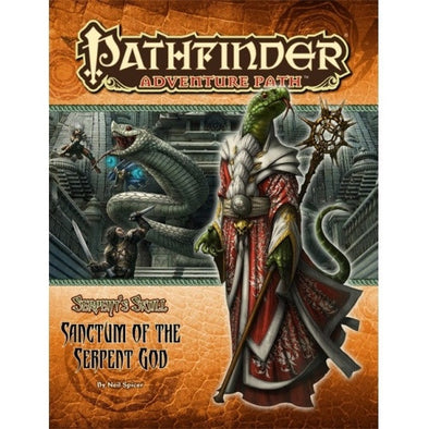 Pathfinder - Adventure Path - #42: Sanctum of the Serpent God (Serpent's Skull 6 of 6) available at 401 Games Canada