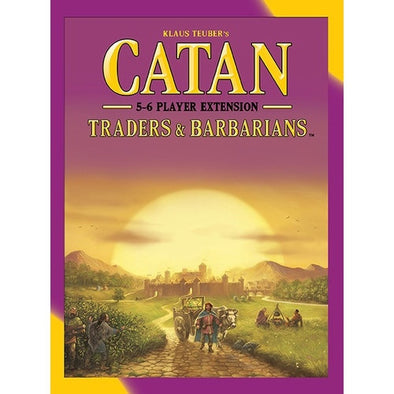 Catan 5th Edition - Traders and Barbarians 5-6 Player Extension - 401 Games