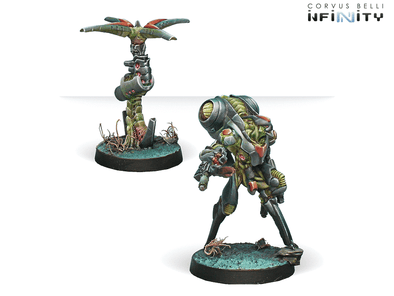 Infinity - Combined Army - Ikadron Batdroids & Imetron available at 401 Games Canada