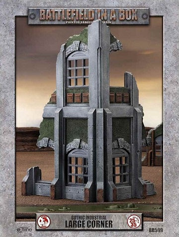 Battlefield in a Box - Gothic Industrial - Large Corner - 401 Games