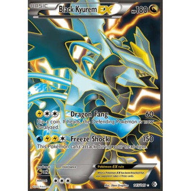 Buy Black Kyurem-EX - 145/149 - Full Art and more Great Pokemon Products at 401 Games