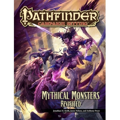 Pathfinder - Campaign Setting - Mythical Monsters Revisited - 401 Games