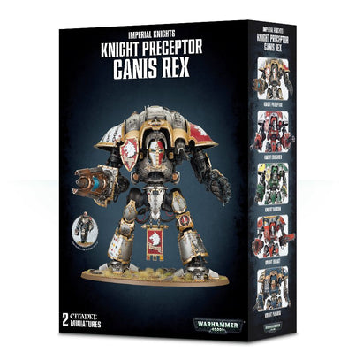Warhammer 40,000 - Imperial Knights - Knight Preceptor Canis Rex