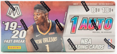 2019-20 Panini Mosaic Basketball Fast Break Box - 401 Games