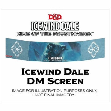 Dungeons & Dragons - 5th Edition - Dungeon Master's Screen - Icewind Dale: Rime of the Frostmaiden (Pre-Order) - 401 Games