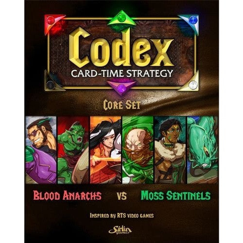 Codex: Card-Time Strategy - Core Set available at 401 Games Canada