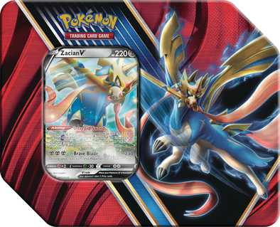 Pokemon - Legends of Galar Tin - Zacian - 401 Games