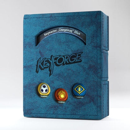 Keyforge - Deck Book - Blue available at 401 Games Canada