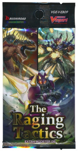 Cardfight!! Vanguard - V Extra Booster 09: The Raging Tactics - Booster Pack available at 401 Games Canada