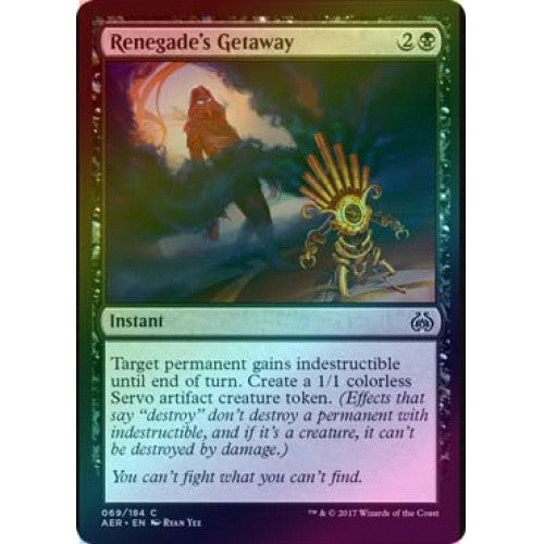Renegade's Getaway (Foil) (AER) available at 401 Games Canada