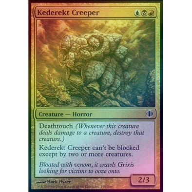 Kederekt Creeper (Foil) (ALA) available at 401 Games Canada