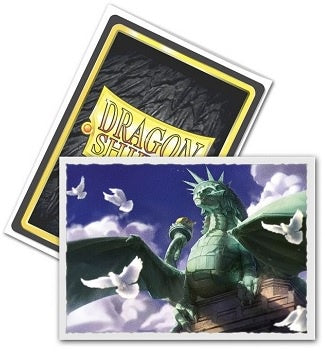 Dragon Shield - 100ct Standard Size - Art - Dragon of Liberty available at 401 Games Canada