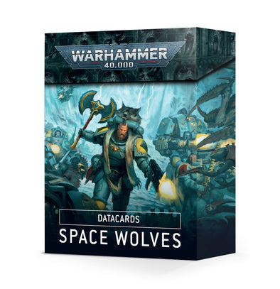 Warhammer 40,000 - Datacards: Space Wolves - 9th Edition available at 401 Games Canada