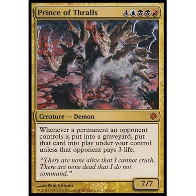 Prince of Thralls (ALA) available at 401 Games Canada