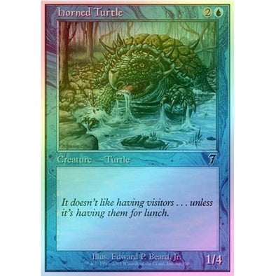 Horned Turtle (Foil) available at 401 Games Canada