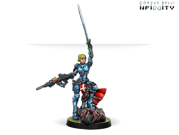 Infinity - PanOceania - Jeanne d'Arc (MULTI Rifle) available at 401 Games Canada