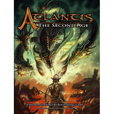Atlantis: The Second Age - Core Rulebook - 401 Games