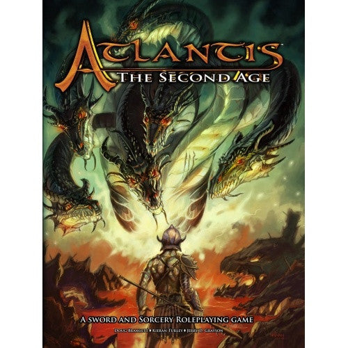 Buy Atlantis: The Second Age - Core Rulebook and more Great RPG Products at 401 Games