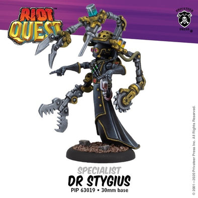 Riot Quest - Hero - Doctor Stygius - 401 Games