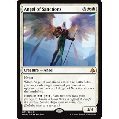 Angel of Sanctions (AKH) available at 401 Games Canada