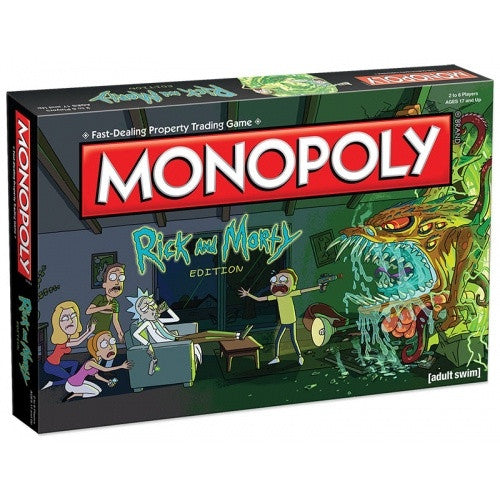 Monopoly - Rick and Morty available at 401 Games Canada