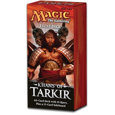 Buy MTG - Khans of Tarkir - Event Deck - Conquering Hordes and more Great Magic: The Gathering Products at 401 Games