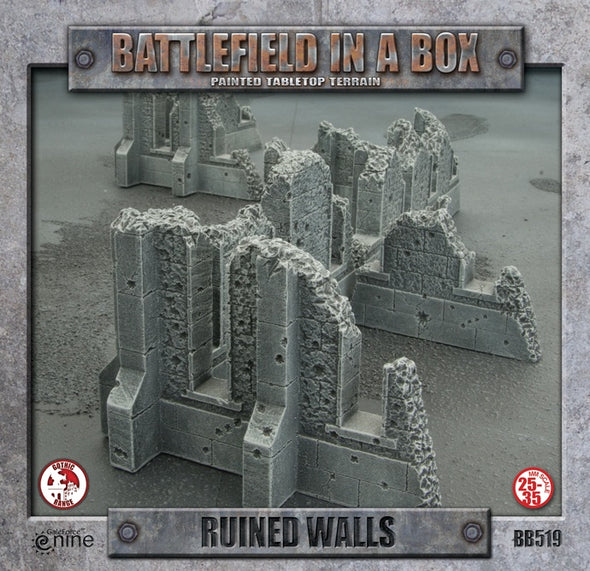 Battlefield in a Box - Gothic Battlefields - Ruined Walls - 401 Games